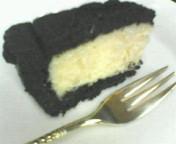 黒ぃチーズケーキ★